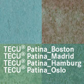 KME copper tecu-patina-variations