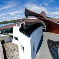 copper roof - Hamilton Island Yacht Club