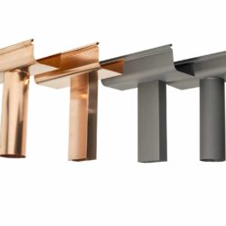 rainwater items copper and zinc